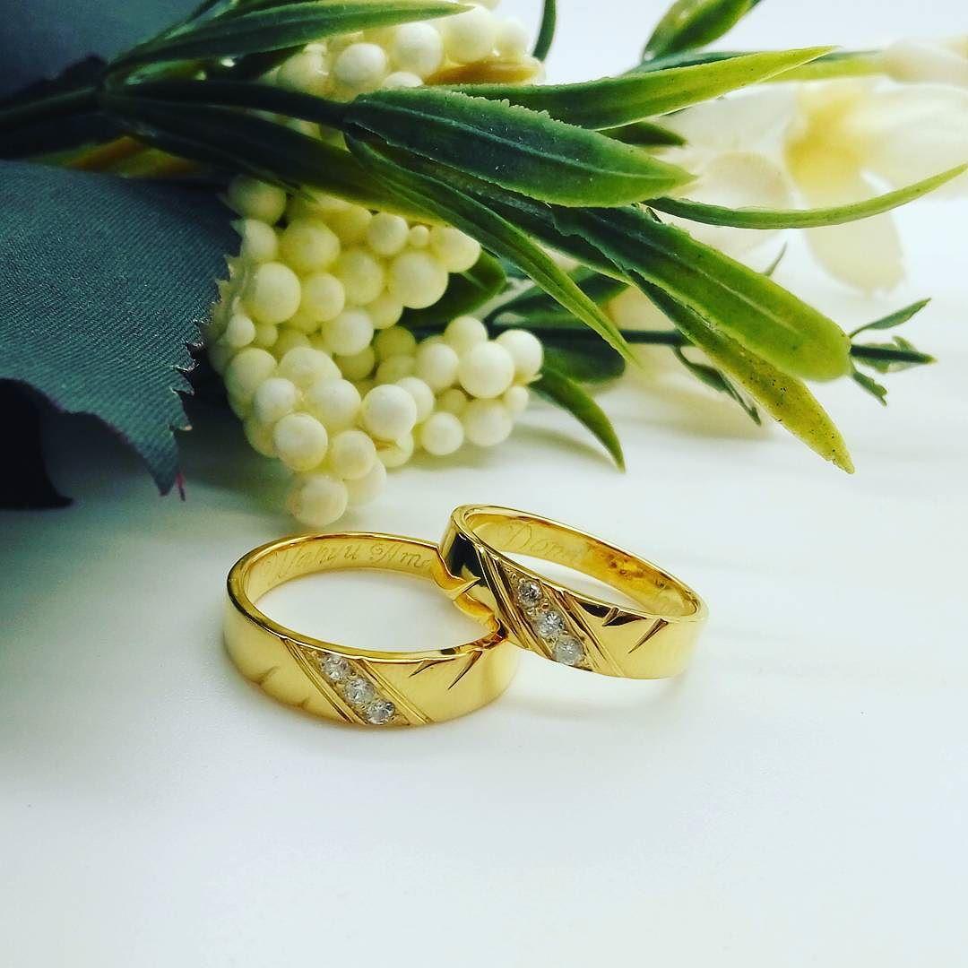 Cincin Nikah Platinum Dan Palladium Pernikahan 023 Disini Anda Bisa Custom Model Kawin Yang Diinginkan Selain Bahan Duta Jewellery Juga Menyediakan Emas Perak