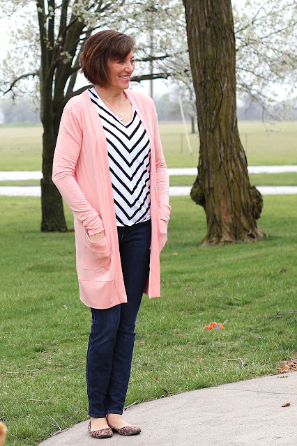 Blackwood Cardigan by Helen't Closet in modal jersey from Style Maker Fabrics