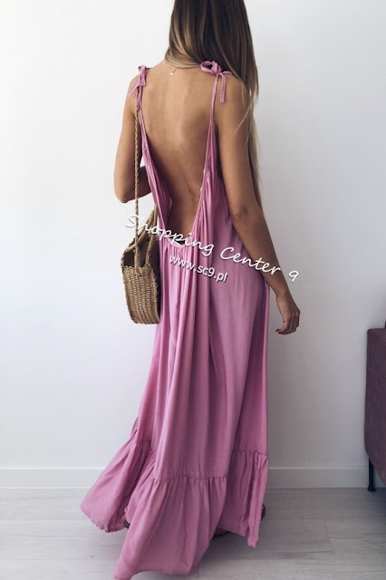 trendy sukienki lato maxi blog modowy