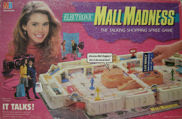 Trip Mall Madness Board Game