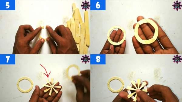 cara membuat kerajinan stik es krim