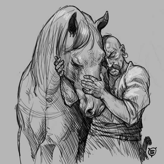 козак та кінь