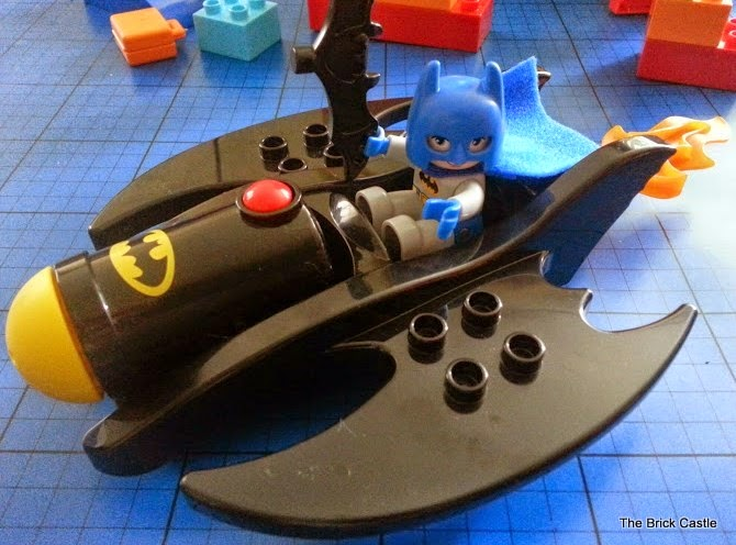 LEGO DUPLO Batcave Adventure set review Batwing and Batman
