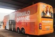 Ex-vocalistas da Mala 100 Alça apresenta o novo Ônibus