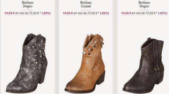 Tres botines en estilo urban y casual que puedes comprar por 14 euros.
