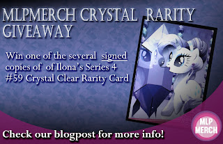Reminder: Signed Crystal Clear Rarity Trading Card Giveaway