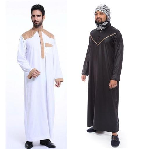 Model Baju Muslim Pria Gamis Terbaru 2017/2018