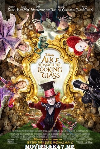 Alice Through The Looking Glass (2016) Hindi BRRip 1080p 2GB Dual Audio (Hindi + English) Full Movie