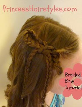 Brilliant Hairstyles For Girls Princess Hairstyles Hair Bows Short Hairstyles Gunalazisus
