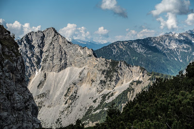 Bergpanorama Rofan und Umgebung