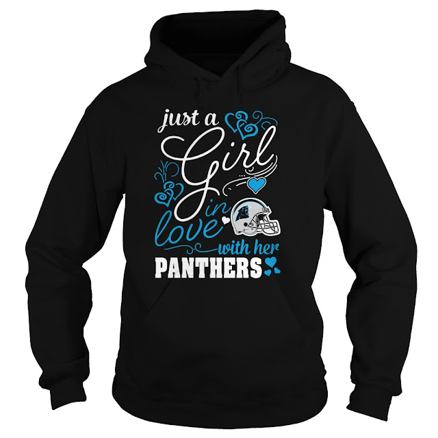 Carolina Panthers - Just A Girl In Love With Her Shirt