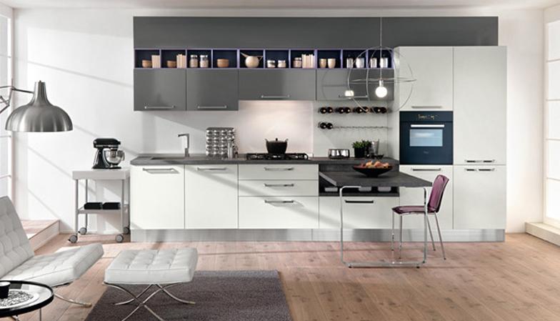 Cocinas lineales nada presuntuosas cocinas con estilo ideas para dise ar tu cocina - Cocinas lineales ...