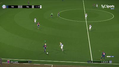 PES 2018 Scoreboard Superliga Argentina by Sonofsam69