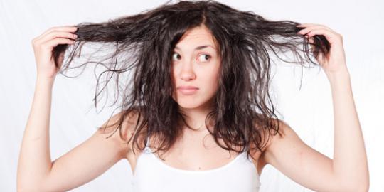 cara merawat rambut berminyak