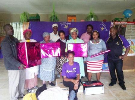 Ekuphileni Community Care Centre - Donation from Hollywoodbets