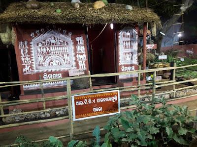 31 Replica of Adivasi Houses in Bhubaneswar Adivasi Mela 2017.