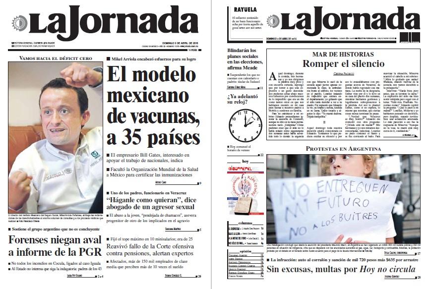 Noticias Guerrer S Sme Peri Dico La Jornada El Modelo