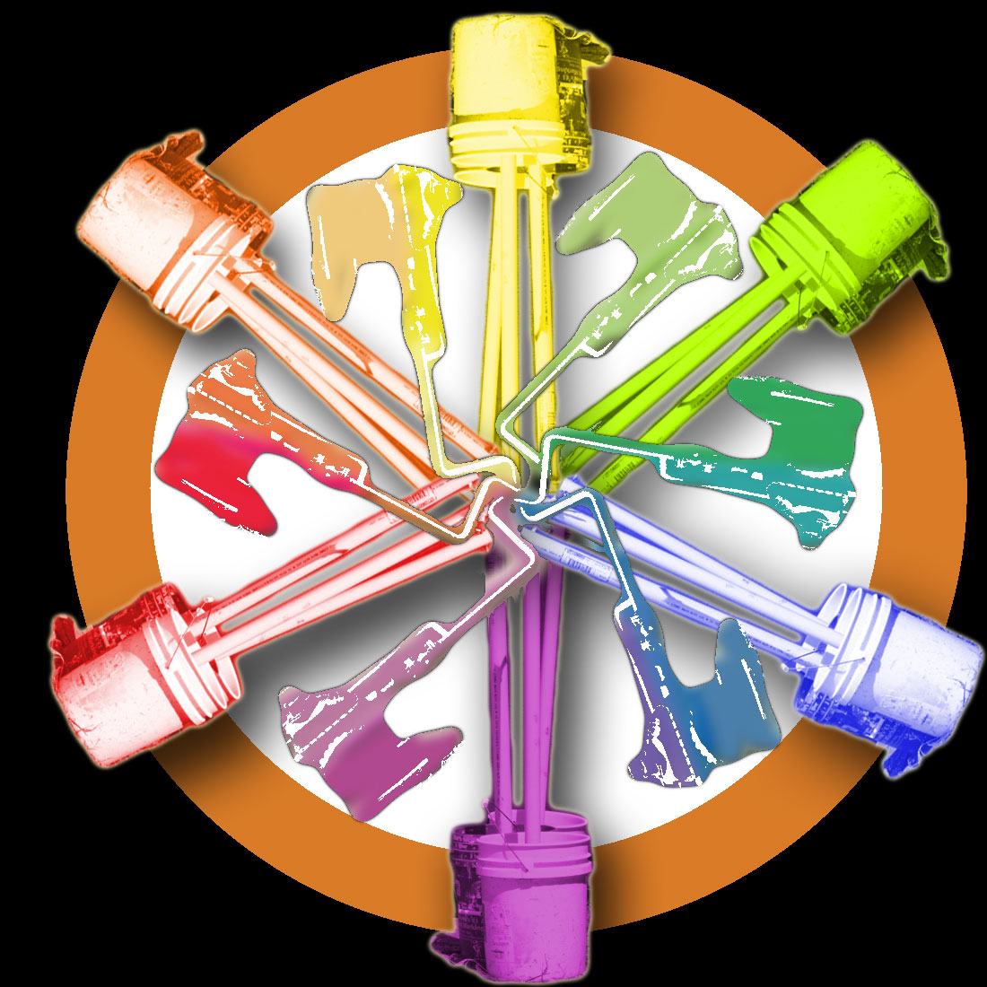 Art Of Apex High School Color Wheels