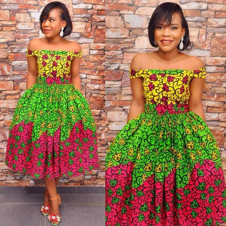 African, Ankara, print dresses ,Fashion teens