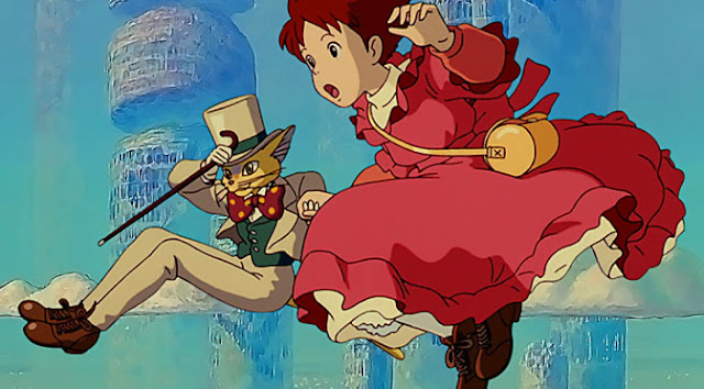 Sussurros do coração / Mimi wo sumaseba / Whisper of the Heart (FILME COMPLETO)