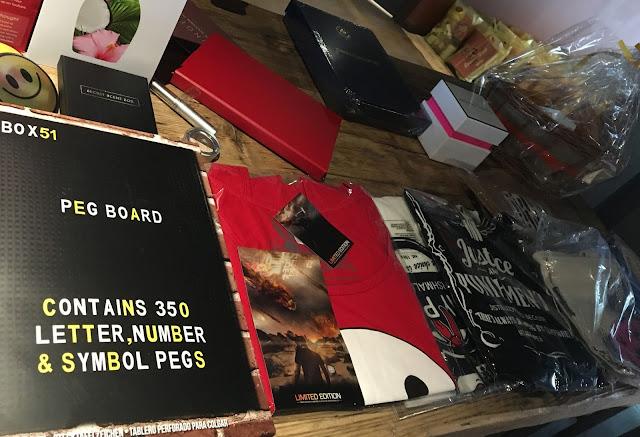 LivHelps raffle table