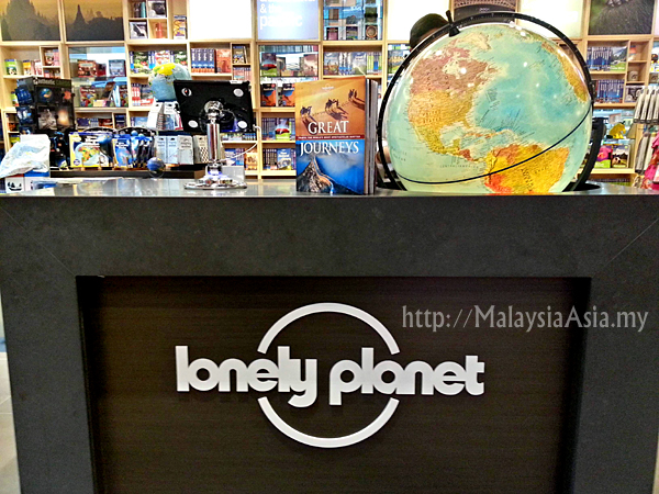 Malaysia Lonely Planet Concept Store