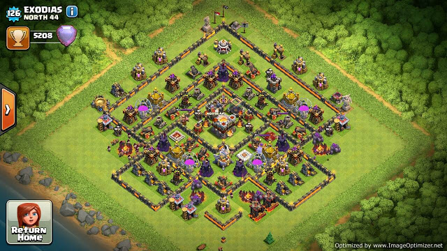 coc th 11 base defence