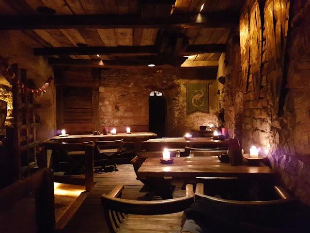 Rozengrals medieval themed restaurant Riga Latvia