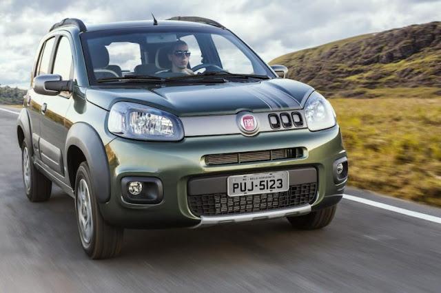 Fiat convoca 1.522 unidades do Uno para recall por problemas nos airbags da Takata