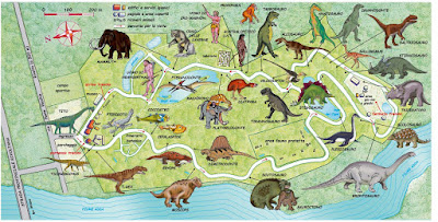 Mappa Parco della Preistoria 2017