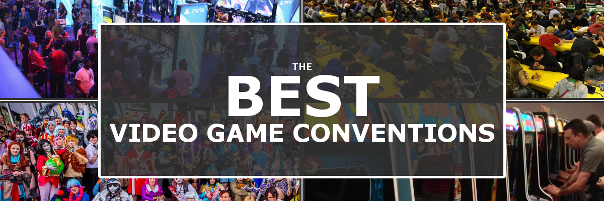 best video game conventions banner