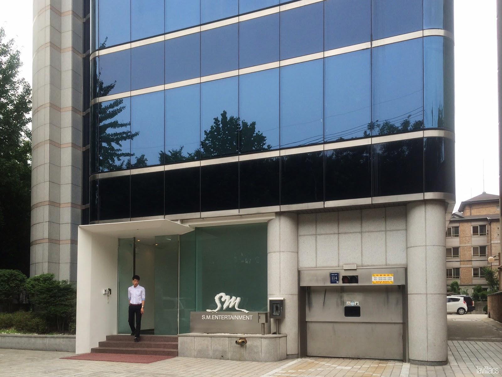 Seoul, Korea - Summer Study Abroad 2014 - SM Entertainment building