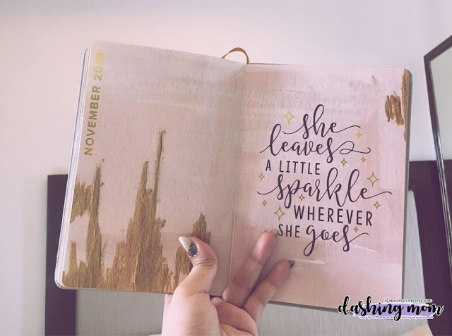 Parisian Shoes and Bags Planner 2019 November