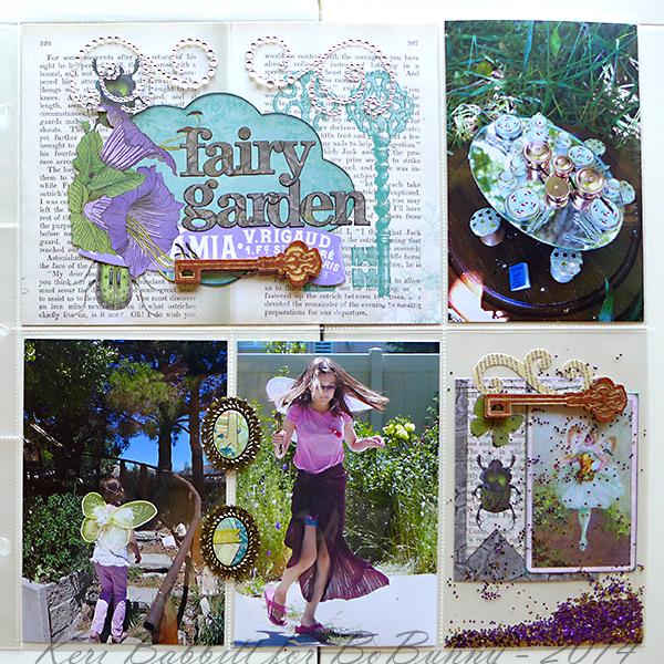 BoBunny: Enchanted Garden 12 X 12 Misc Me