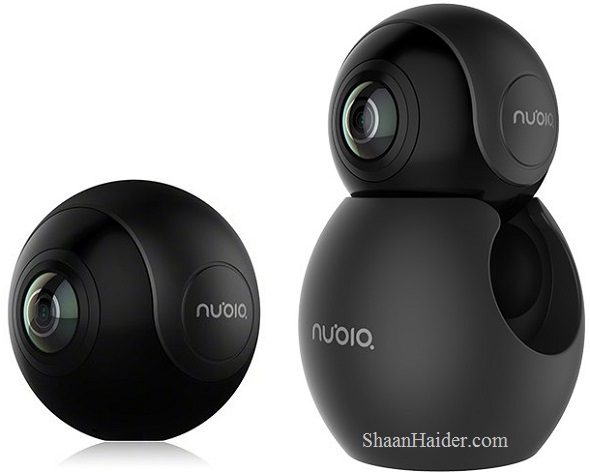 Nubia NeoAir VR 360-Degrees Panoramic Camera : Full Hardware Specs, Features, Availability and Price