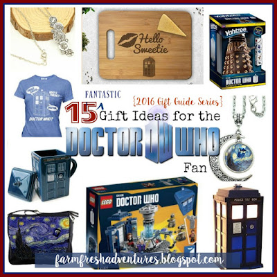 15 Gift Ideas for the Doctor Who Fan