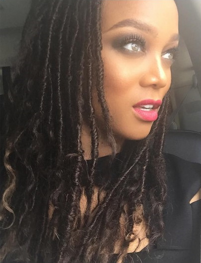 Tyra banks shaved head what necessary