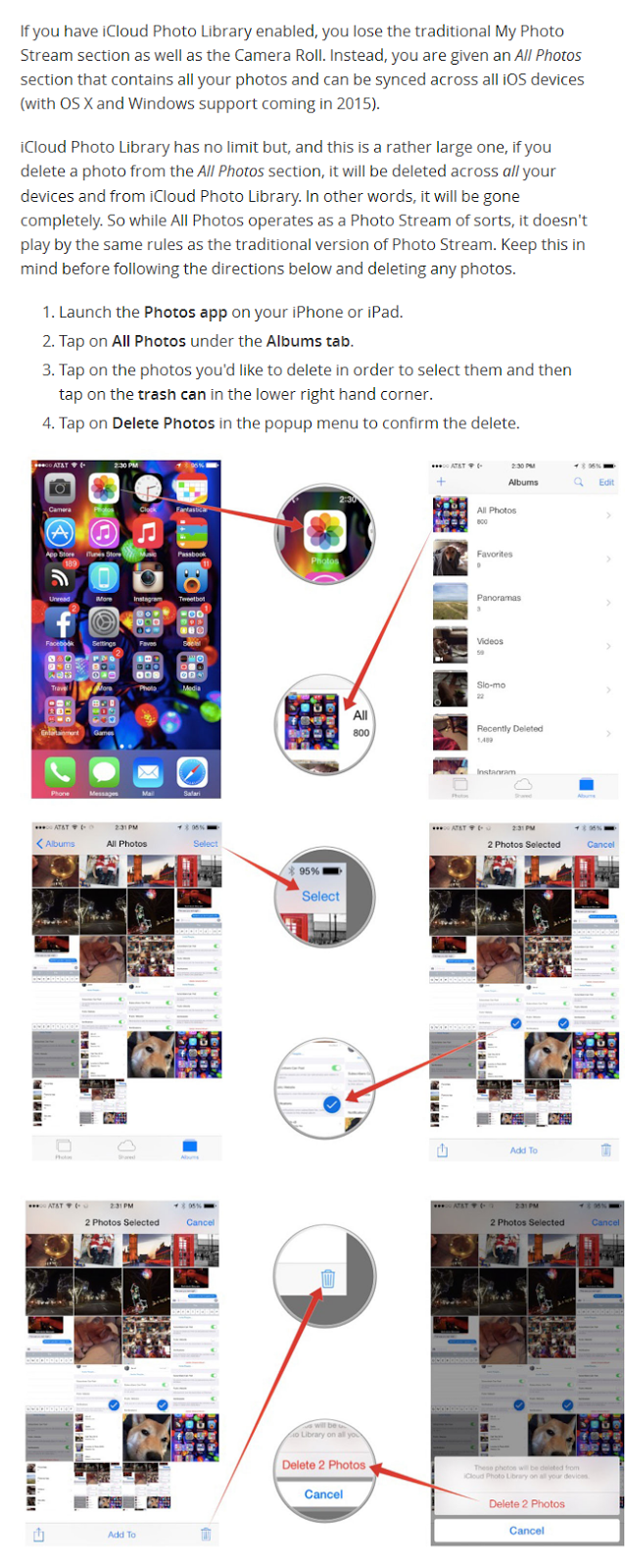 how to delete photo library from iphone how to delete photos from photo on iphone and 4612