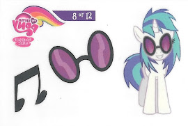 My Little Pony Tattoo Card 8 Series 3 Trading Card