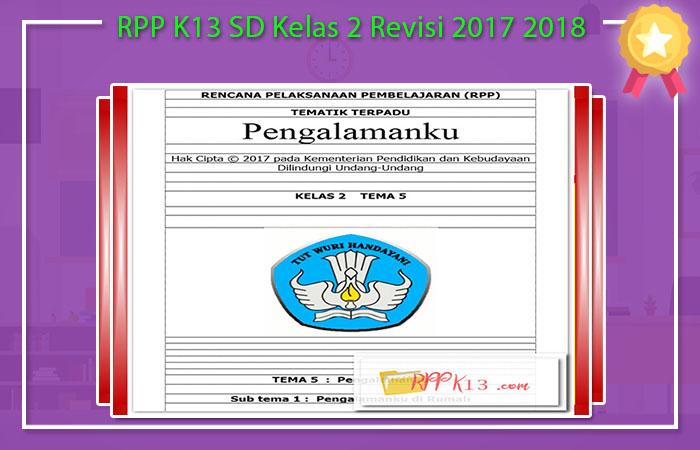 Unduh RPP K13 SD Revisi 2017