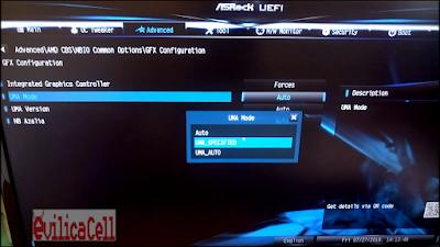 BIOS AsRock A320M-HDV