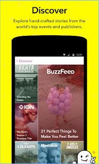 Snapchat Latest APK V10.13.1.0 Discover