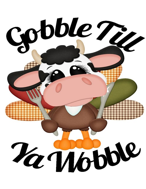 Happy Thanksgiving, The Cow Whispererers Creative Cards