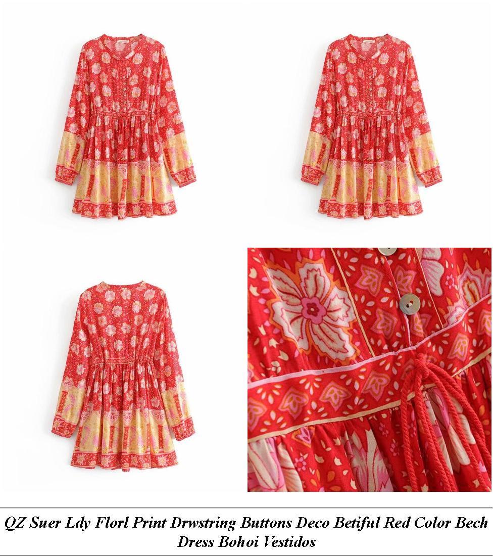 Affordale Formal Dresses Risane - Lack Friday Vintage Clothing - Orange And Gray Dress