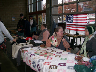 4th US Puyallup Antique Show Civillian Quilt Display