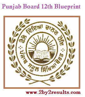 PSEB 12th Class Blueprint | Punjab Board 12th Question pattern