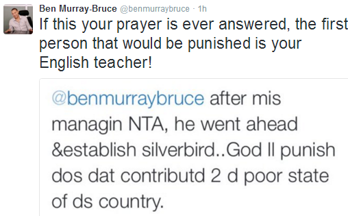 LOL: Ben Bruce And His Twitter Rant...