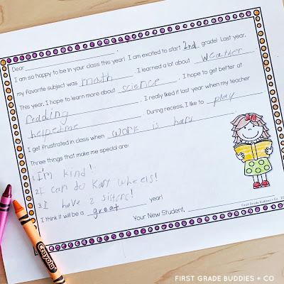 https://www.teacherspayteachers.com/Product/Note-to-Next-Years-Teacher-End-of-the-Year-Activities-Summer-Activities-1232860