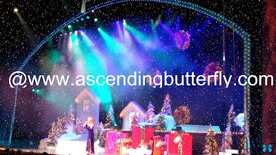 Tropicana Casino Atlantic City Holiday Extravaganza, snow