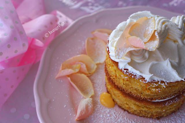 Μίνι Κέικ με Lemon Curd